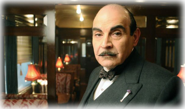 "David Suchet no episódio ""Assassinato no Expresso do Oriente"""