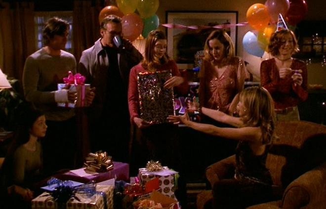 Buffy Aniversário.