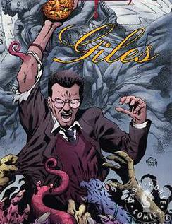 Rupert Giles nos quadrinhos