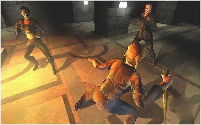 Buffy - The Vampire Slayer Xbox combate