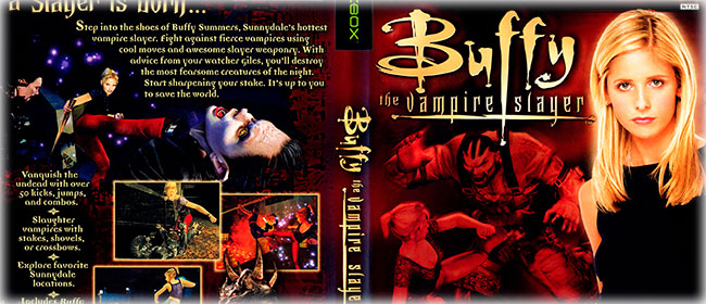 Buffy - The Vampire Slayer Xbox Capa