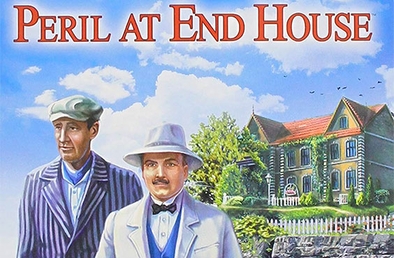 A casado penhasco, jogo de computador, poirot, hastings, peril at the end house