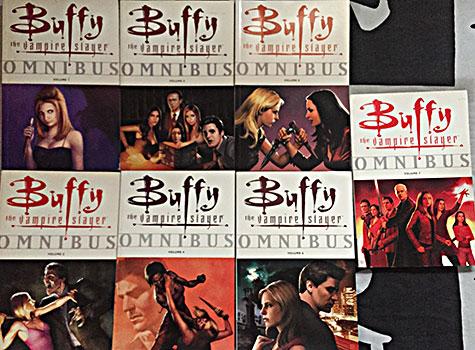 Buffy, Omnibus, spike e dru, drussila, análise, comic, gibi