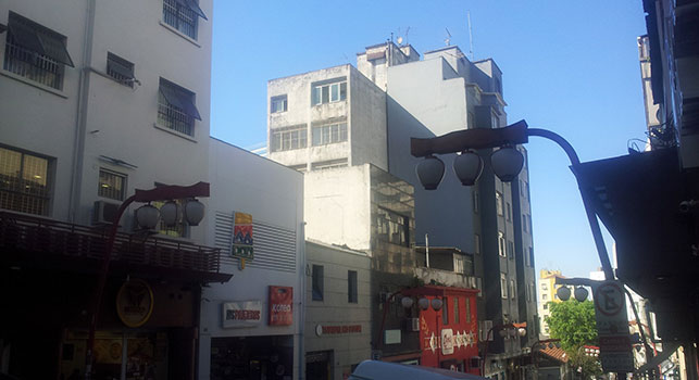 Bairro da liberdade (bairro japonês) em São Paulo visitado pelo Café com Leitura.