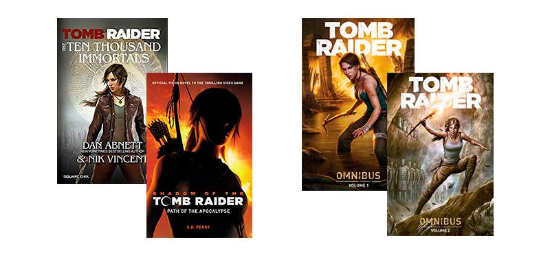 Livro Os Dez Mil Imortais Tomb Raider - livros e gibis