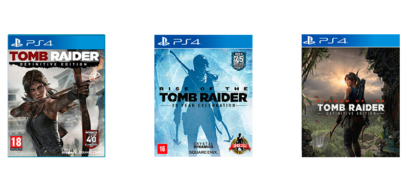 Livro Os Dez Mil Imortais Tomb Raider - jogos, Rise of Tomb Raider, Shadow of Tomb Raider
