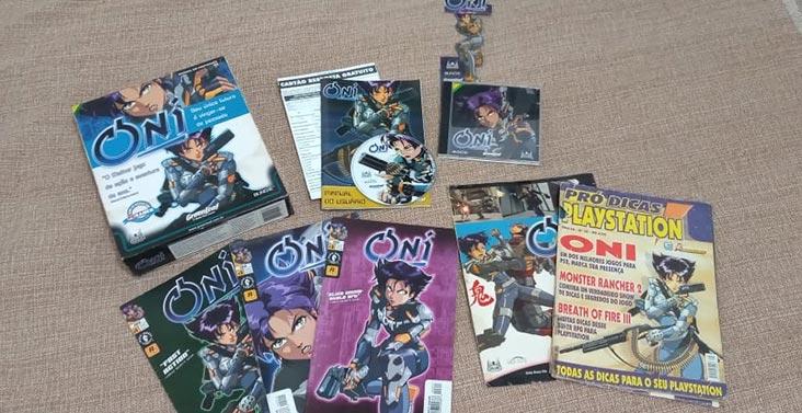 ONI coleção jogo gibis revistas