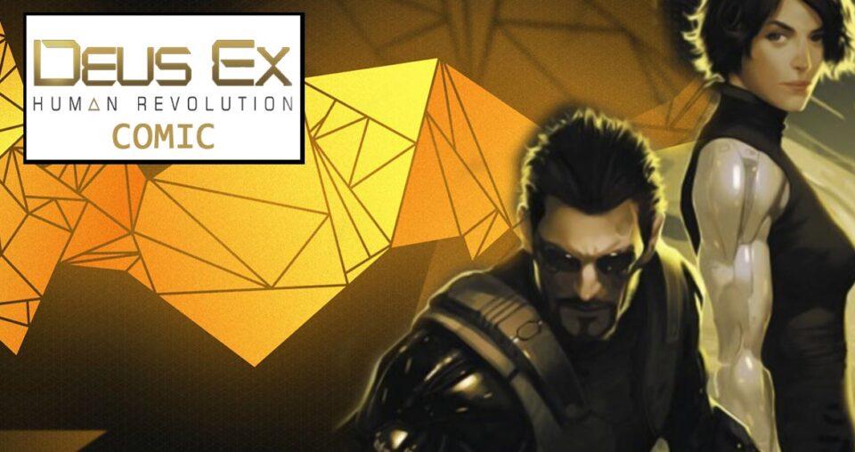Deus Ex Human Revolution – gibi canônico com o game lançado em 2011