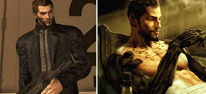 Deus Ex Human Revolution gibi Adam Jensen